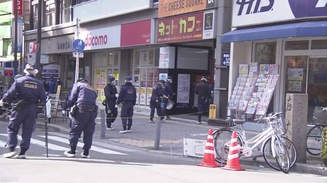 職務質問の警察官 ナイフの男に発砲し逮捕 大阪   NHKニュース