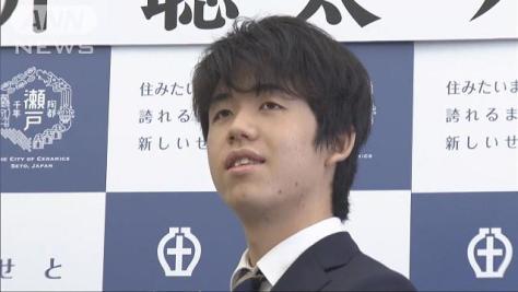 藤井六段に市民栄誉賞「喜んでもらえるよう活躍を」