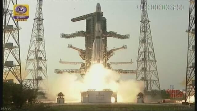 インドが通信衛星打ち上げ 中国艦船の監視強化か | NHKニュース