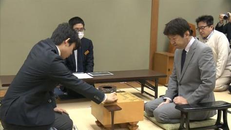 藤井六段 VS 杉本七段 公式戦初の師弟対決