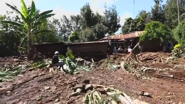 ケニア 大雨でダム決壊 子どもなど47人死亡