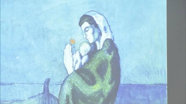 ピカソ代表作「海辺の母子像」最先端スキャナーで新発見 | NHKニュース