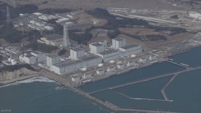 福島第二原発 廃炉の方向で検討 東電社長