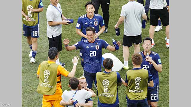 サッカーW杯 日本が2大会ぶり決勝トーナメントへ