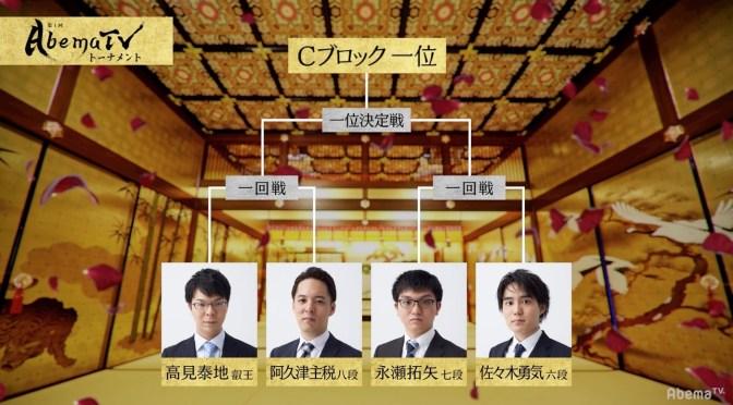 永瀬拓矢七段が1位通過予想トップの47%/AbemaTVトーナメント予選Cブロック | AbemaTIMES