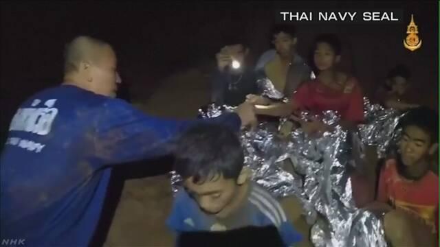 タイ洞窟から6人救出=少年ら13人不明から16日目