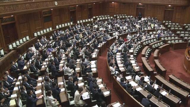 カジノ含むIR整備法 参院本会議で可決・成立