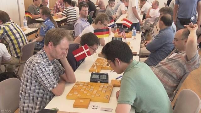 欧州でも将棋人気 ドイツで130人が腕前競う   NHKニュース