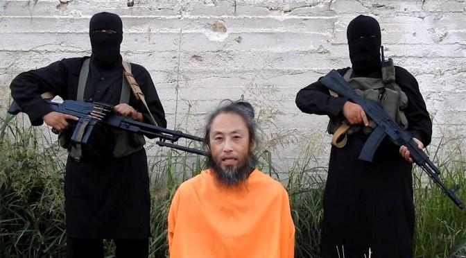 安田純平さんか 新たな映像 「助けて」2人の男が銃を...