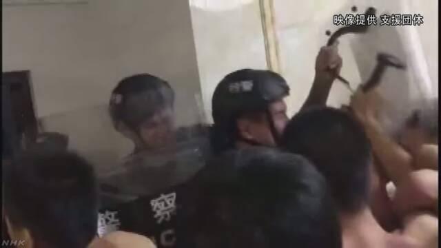 中国 労働者の釈放求め活動中の大学生ら50人余一斉拘束 | NHKニュース