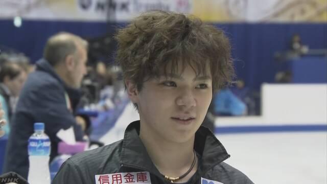 NHK杯フィギュア 男子は宇野昌磨が優勝 | NHKニュース