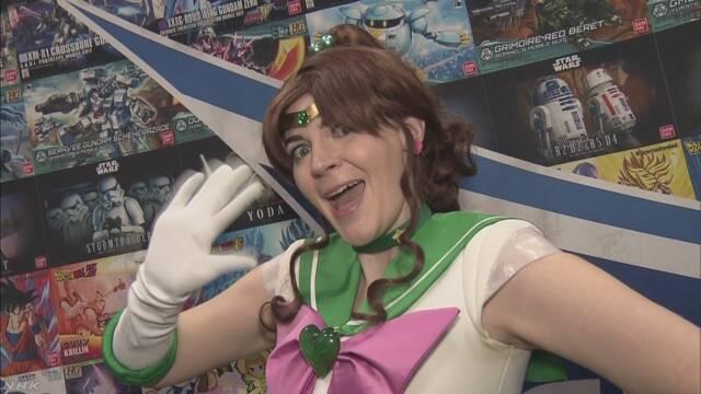 NYで日本アニメの大規模な祭り コスプレーヤー大集合   NHKニュース
