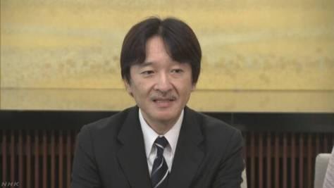 秋篠宮さま 53歳に 会見の全文