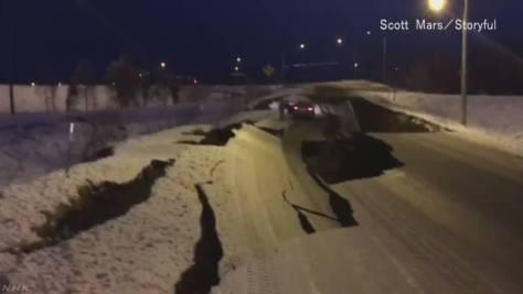 米 アラスカ州南部付近でM7.0の地震 日本への津波の影響なし