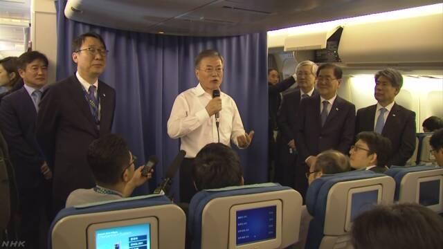 韓国大統領 日本との関係「歴史問題で損なわれてはならない」