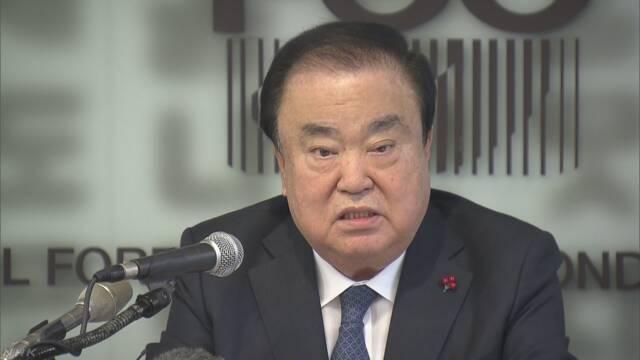 「元慰安婦が望むのは安倍首相の謝罪」韓国の国会議長