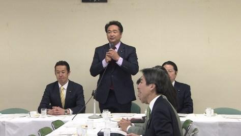 自民党・外交部会・外交調査会 合同会議(1月11日 自民党本部)
