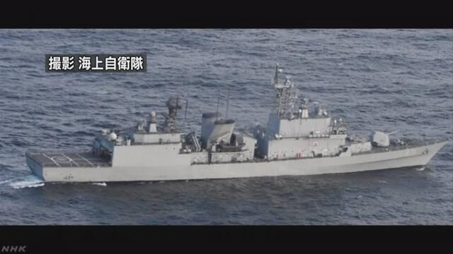 防衛省 「日本が無理な要求」との韓国発表に抗議