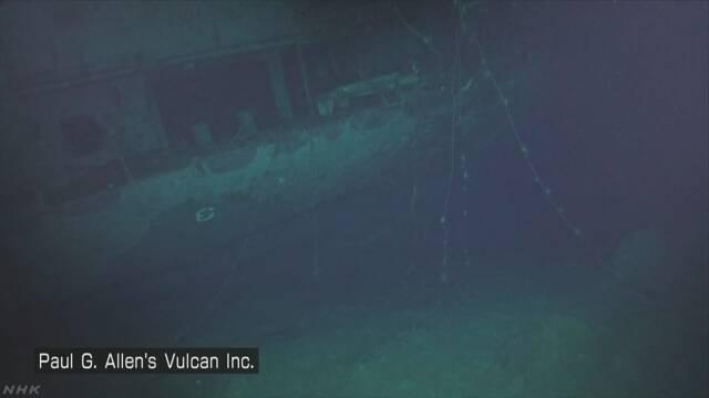 太平洋戦争中の米空母「ホーネット」南太平洋の深海で発見 | NHKニュース