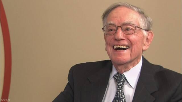 ドナルド・キーンさん死去 96歳