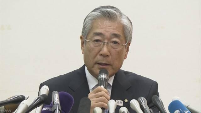 JOC 竹田会長 退任の意向伝える