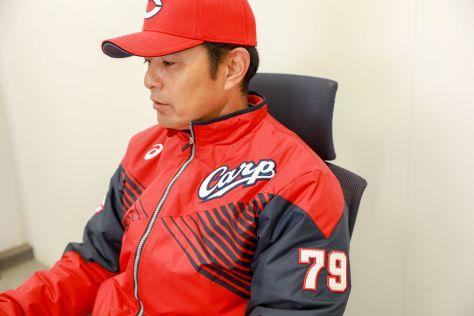 5年目のシーズンを迎える緒方孝市監督(写真:KOJI AKITA)