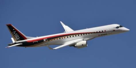 三菱航空機のMRJ(共同)