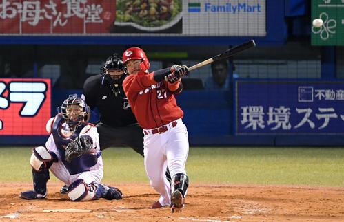 広島会沢が好守で鼓舞 強い精神力で明日への手応え – プロ野球 : 日刊スポーツ
