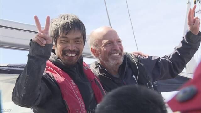 世界初 全盲男性が小型ヨットで太平洋横断に成功