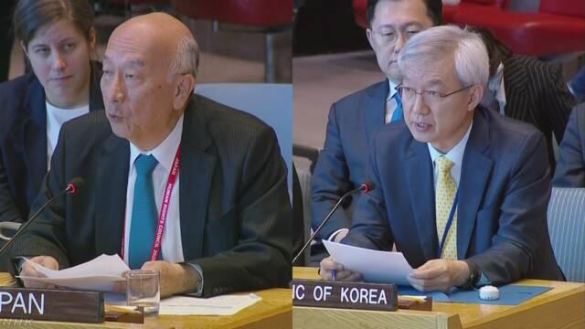 日韓が慰安婦問題で応酬 国連安保理 | NHKニュース