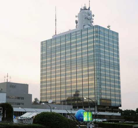 NHK放送センター=東京都渋谷区、2010年