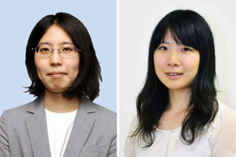 里見香奈女流王将(左)、西山朋佳女王