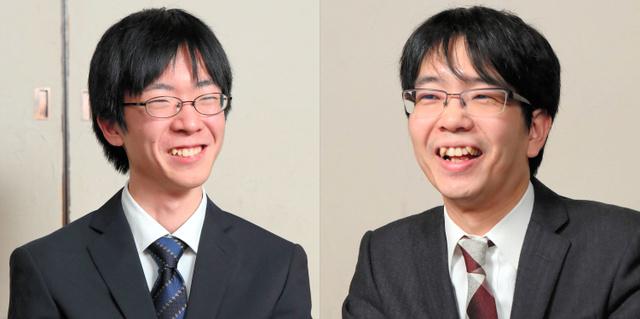 芝野名人(左)と豊島名人