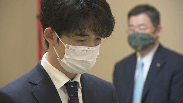 王位戦 札幌で 藤井七段「1手1手しっかりと」 | HTBニュース