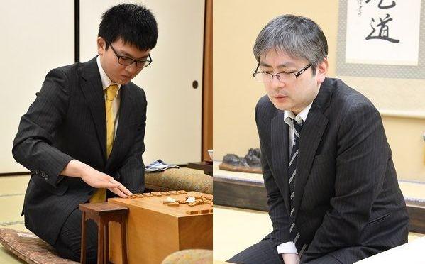 4連勝でこれ以上ないスタートを切った永瀬二冠(左)と郷田九段