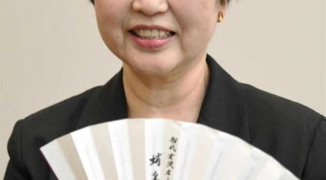 蛸島彰子女流六段は、初の女流棋士でパイオニアとして知られる