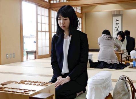 奨励会を退会した西山朋佳女流三冠(2020年3月9日撮影)
