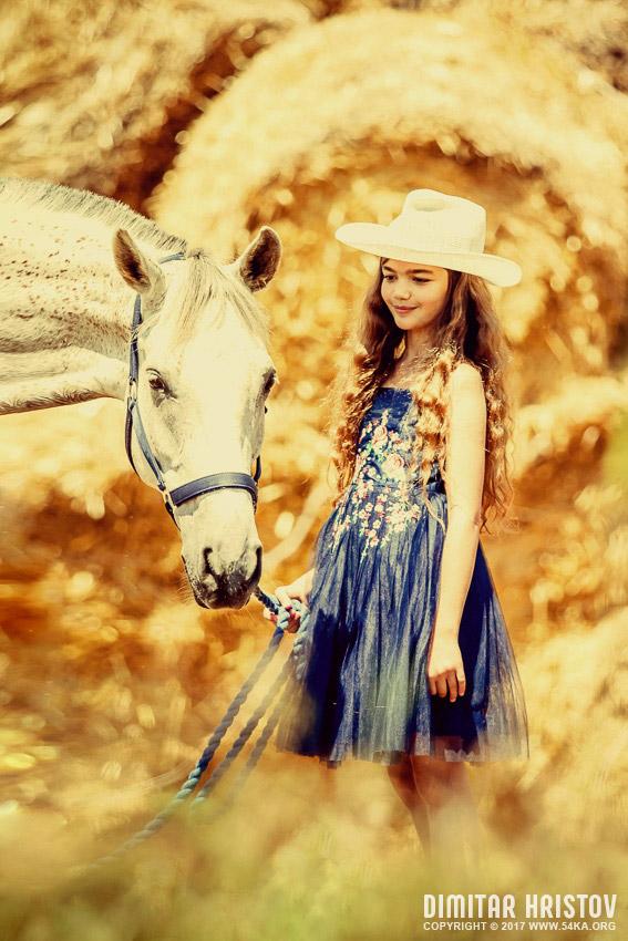 Childrens Animal Wallpaper Cute Girl With Beautiful White Horse 54ka Photo Blog