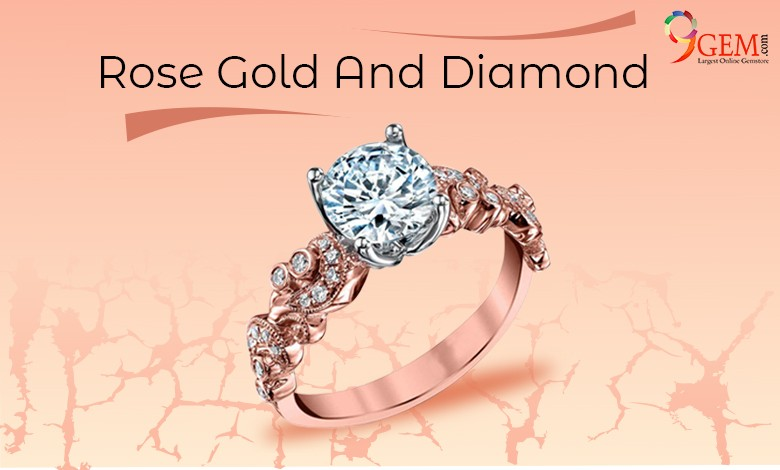 rose gold diamond jewellery