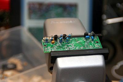Oscillator part of the radio