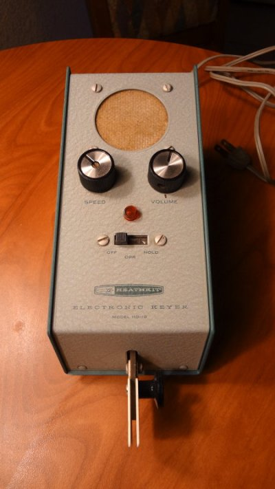 Heathkit HD-10 keyer
