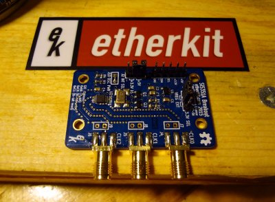Etherkit Si5351 board with conventional pin layout