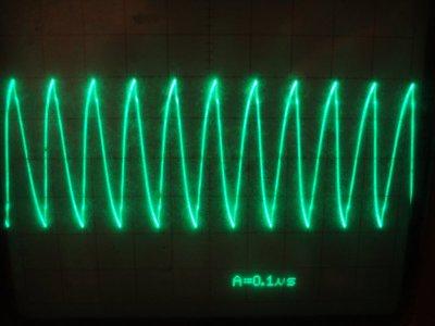 10MHz waveform