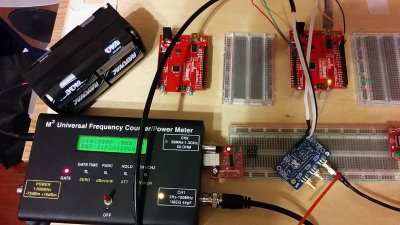 Testing the Etherkit Si5351 boards