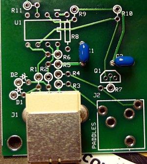 Ensemble RXTX USB power section