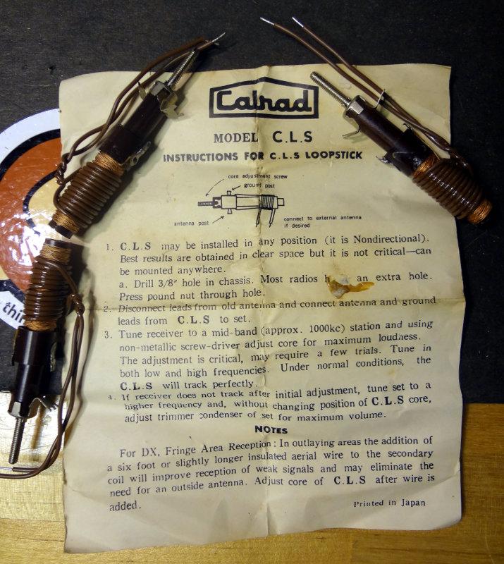 Calrad CLS loopstick