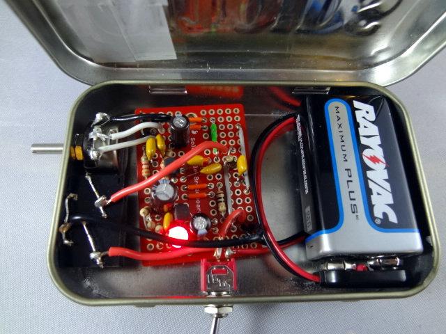 Code practice oscillator completed | AB4UG Radioblog