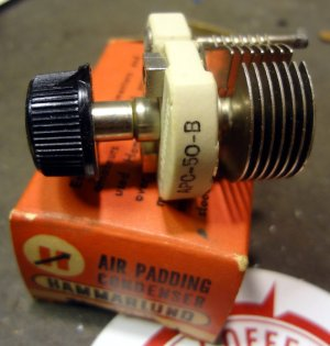 Hammarlund air variable capacitor
