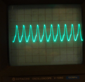CC1 BFO waveform
