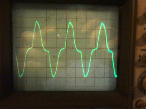 CC1 VFO waveform